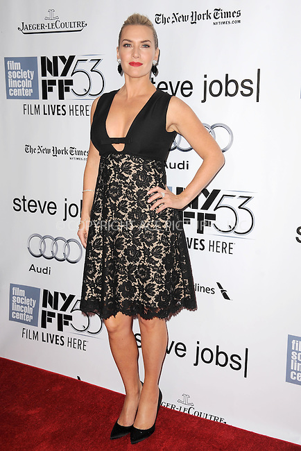 WWW.ACEPIXS.COM<br /> October 3, 2015 New York City<br /> <br /> Kate Winslet attending the 53rd New York Film Festival premiere of 'Steve Jobs' at Alice Tully Hall, Lincoln Center on October 3, 2015 in New York City.<br /> <br /> Credit: Kristin Callahan/ACE Pictures<br /> <br /> Tel: (646) 769 0430<br /> e-mail: info@acepixs.com<br /> web: http://www.acepixs.com