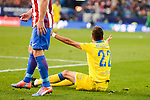 UD Las Palmas Helder Lopes during La Liga match between Atletico de Madrid and UD Las Palmas at Vicente Calderon Stadium in Madrid, Spain. December 17, 2016. (ALTERPHOTOS/BorjaB.Hojas)