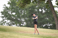 Brooke Matthews swings, Saturday, June 27, 2020 during the final round of the WAPT pro golf tournament in Bella Vista. Check out nwaonline.com/200627Daily/ for today's photo gallery. <br /> (NWA Democrat-Gazette/Charlie Kaijo)