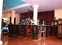 "COPY BY TOM BEDFORD<br /> Pictured: Interior view of the Prince of Bengal restaurant <br /> Re: Chef Kamrul Islam who attacked a client with chilli powder is due to appear before Merthyr Tydfil Magistrates Court.<br /> David Evans was at the Prince of Bengal restaurant on Saturday night when the incident took place.<br /> The 46-year-old was out for dinner with his wife Michelle when they were asked by a waiter if they were enjoying their curry.<br /> The couple said they told the waiter their meal was ""tough and rubbery"" and he passed the complaint onto the head chef.<br /> Michelle said chilli powder was then thrown into her husband's eyes and he was taken to hospital."