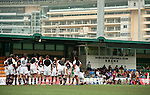 BGC Asia Pacific Barbarians vs Playmore's Shanghai Devils during Day 1 of the GFI HKFC Tens 2012 at the Hong Kong Football Club on March 21, 2012. Photo by Manuel Queima / The Power of Sport Images for HKFC