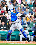 3 March 2010: New York Mets' catcher Rod Barajas in action during a Grapefruit League game against the Atlanta Braves at Champion Stadium in the ESPN Wide World of Sports Complex in Orlando, Florida. The Braves defeated the Mets 9-5 in the Spring Training matchup. Mandatory Credit: Ed Wolfstein Photo
