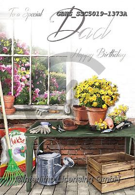 John, STILL LIFE STILLEBEN, NATURALEZA MORTA, paintings+++++,GBHSSSC5019-1373A,#I#, EVERYDAY ,garden
