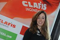 SCHAATSEN: HEERENVEEN: 23-09-2014, Perspresentatie Team Clafis, Antoinette de Jong, ©foto Martin de Jong