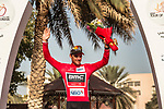 Greg Van Avermaet (BEL) BMC Racing Team retains the race leaders Red Jersey at the end of Stage 4 of the 2018 Tour of Oman running 117.5km from Yiti (Al Sifah) to Ministry of Tourism. 16th February 2018.<br /> Picture: ASO/Muscat Municipality/Kare Dehlie Thorstad | Cyclefile<br /> <br /> <br /> All photos usage must carry mandatory copyright credit (&copy; Cyclefile | ASO/Muscat Municipality/Kare Dehlie Thorstad)