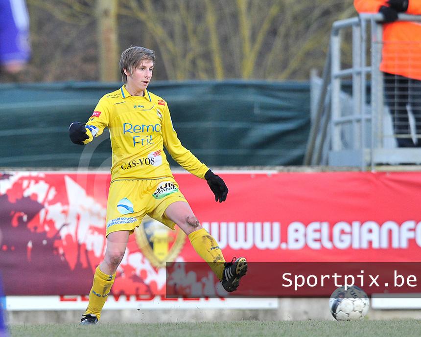 Waasland Beveren Sinaai Girls - RSC Anderlecht : Katrijn Windey.foto DAVID CATRY / Nikonpro.be