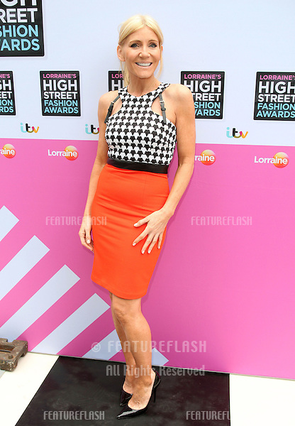 Michelle Collins arriving for Lorraine's High Street Fashion Awards, London. 22/05/2013 Picture by: Alexandra Glen / Featureflash