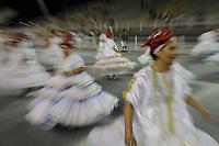 SÃO PAULO,SP,18.01.2019 - CARNAVAL-SP - Ensaio Técnico Geral da escola de samba Colorado Brás no sambódromo do Anhembi localizado na zona norte de São Paulo na noite desta sexta-feira, 18. (Foto:Nelson Gariba/Brazil Photo Press)