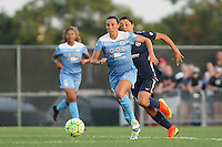 Piscataway, NJ - Saturday Aug. 27, 2016: Vanessa DiBernardo, Samantha Kerr during a regular season National Women's Soccer League (NWSL) match between Sky Blue FC and the Chicago Red Stars at Yurcak Field.