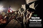 Lorenzo Moscia, larga e impactante cobertura de los mineros en Chile