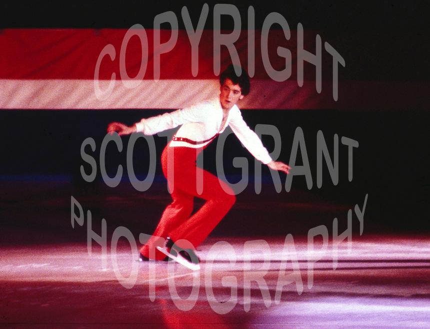 Brian Orser Canada. Photo copyright Scott Grant