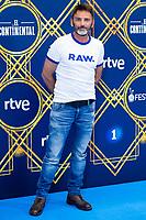 """Actor Fernando Tejero attends to presentation of """"El Continental"""" during FestVal in Vitoria, Spain. September 03, 2018. (ALTERPHOTOS/Borja B.Hojas) /NortePhoto.com NORTEPHOTOMEXICO"""