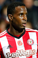 Florian Jozefzoon of Brentford during the Sky Bet Championship match between Brentford and Leeds United at Griffin Park, London, England on 4 November 2017. Photo by Carlton Myrie.