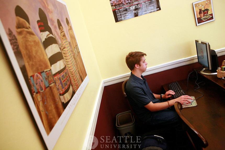 09222011 - Seattle University, Lynn Collegium, first floor of the Lynn building