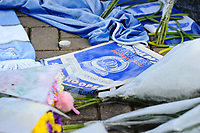 Tributes to Emiliano Sala outside the Cardiff City Stadium