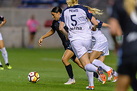 Bridgeview, IL - Friday August 10, 2018: Chicago Red Stars vs North Carolina Courage at Toyota Park.