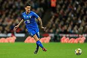 27th March 2018, Wembley Stadium, London, England; International Football Friendly, England versus Italy; Lorenzo Pellegrini of Italy