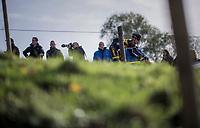 Lars van der Haar (NED/Telenet Fidea Lions)<br /> <br /> Elite Men's course recon<br /> Koppenbergcross / Belgium 2017
