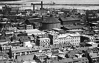 Montreal 1896. Griffintown >Sud-Est de rue de la Montagne.