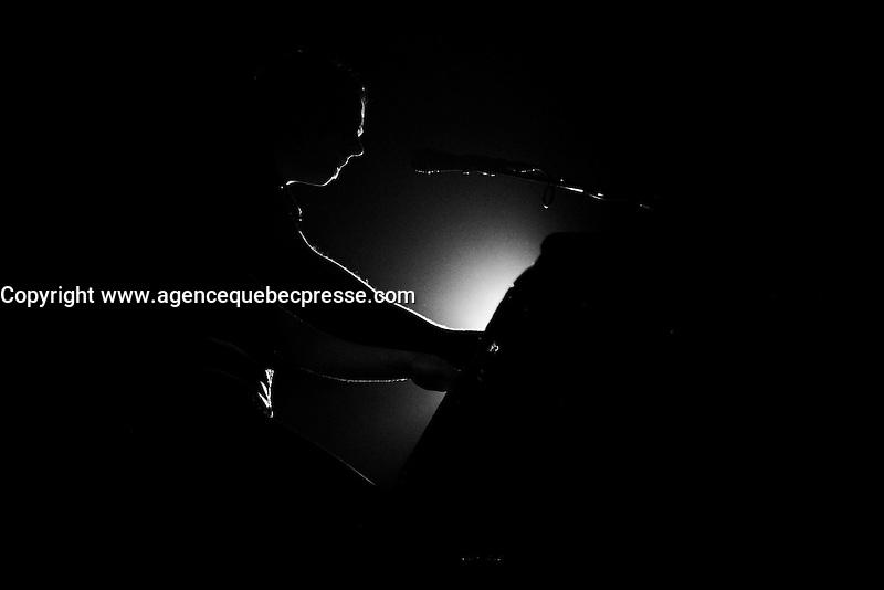 Montreal (Quebec) CANADA - Feb 16 2009-<br /> <br /> Quebec artist Antoine Gratton launch his new album, February 16 2008.