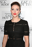 Scarlett Johansson attending the Broadway Opening Night Performance After Party for 'Cat On A Hot Tin Roof' at The Lighthouse at Chelsea Piers in New York City on 1/17/2013