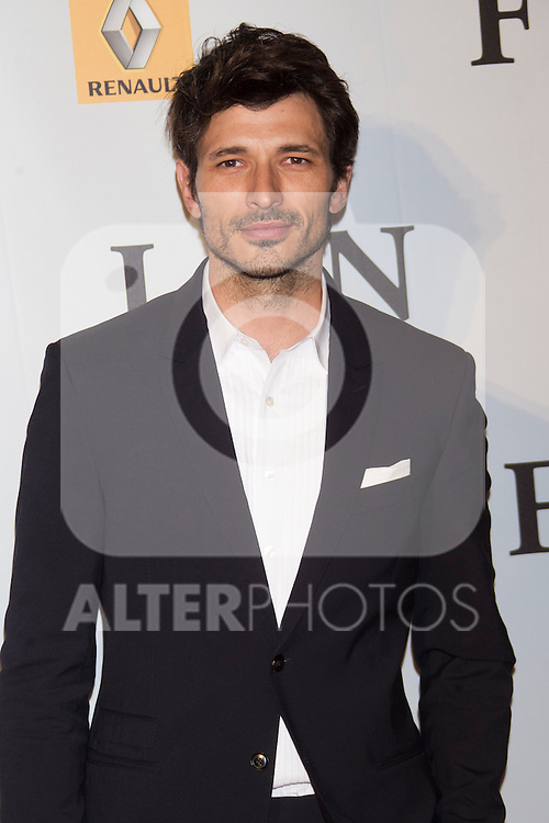 Andres Velencoso attends 'FIN' Premiere at Callao Cinema in Madrid on november 20th 2012...Photo: Cesar Cebolla / ALFAQUI..