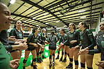 DENTON, TX - NOVEMBER 30:  - North Texas Mean Green Volleyball vs Wichita State Shockers at the Olympic Village in Denton on November 30, 2018 in Denton, Texas. Rick Yeatts Photography/ Matt Pearce