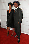 Leslie Parks and Radcliffe Bailey arrive at the Gordon Parks Foundation 2014 Award Dinner and Auction on June 3, 2014 at Cipriani Wall Street, located on 55 Wall Street.