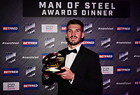 Picture by Simon Wilkinson/SWpix.com - 03/10/2017 - Rugby League BETFRED Super League Man of Steel Awards Dinner 2017 - The Steve Prescott MBE Man of Steel - Oliver GILDART