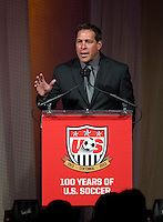 Paul Caligiuri. US Soccer held their Centennial Gala at the National Building Museum in Washington DC.