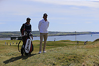 Pedro Figueiredo (POR) waits to play his 3rd shot on the 1st hole during Thursday's Round 1 of the Dubai Duty Free Irish Open 2019, held at Lahinch Golf Club, Lahinch, Ireland. 4th July 2019.<br /> Picture: Eoin Clarke | Golffile<br /> <br /> <br /> All photos usage must carry mandatory copyright credit (© Golffile | Eoin Clarke)