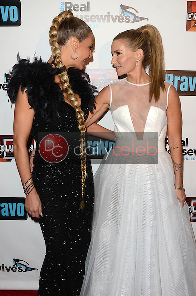 """Dorit Kemsley, Eden Sassoon<br /> at """"The Real Housewives of Beverly Hills"""" Season 7 Premiere Party, Sofitel Hotel, Beverly Hills, CA 12-02-16<br /> David Edwards/DailyCeleb.com 818-249-4998"""