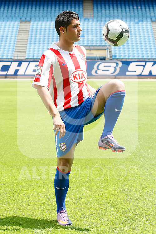 Atletico de Madrid's new player Fran Merida during his presentation.May,28,2010..(ALTERPHOTOS/Acero)