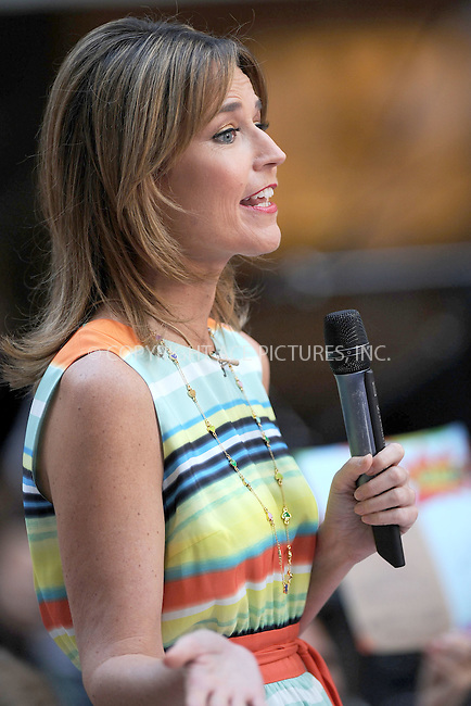WWW.ACEPIXS.COM . . . . . .August 23, 2012...New York City...Savannah Guthrie on NBC's 'Today' at Rockefeller Center on August 23, 2012 in New York City.....Please byline: KRISTIN CALLAHAN - ACEPIXS.COM.. . . . . . ..Ace Pictures, Inc: ..tel: (212) 243 8787 or (646) 769 0430..e-mail: info@acepixs.com..web: http://www.acepixs.com .