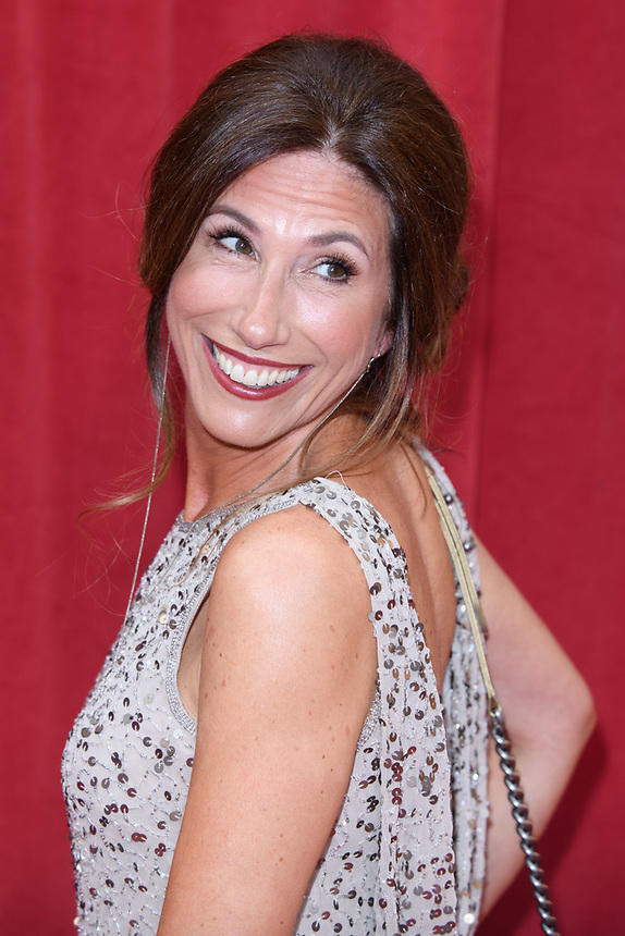 Gaynor Faye<br /> arriving for the British Soap Awards 2018 at the Hackney Empire, London<br /> <br /> ©Ash Knotek  D3405  02/06/2018