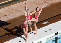 Stanford, CA; February 16, 2019; Synchronized Swimming, Stanford vs Lindenwood.