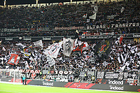 Fans von Eintracht Frankfurt - 22.12.2018: Eintracht Frankfurt vs. FC Bayern München, Commerzbank Arena, DISCLAIMER: DFL regulations prohibit any use of photographs as image sequences and/or quasi-video.