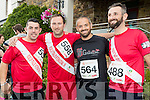 David Flaherty (Tralee), Anthony Murphy (Tralee), Jason Flaherty (Ardfert) and David O'Brien (Tralee) pictured at the Rose of Tralee 10k at Tralee Bay Wetlands on Sunday morning.
