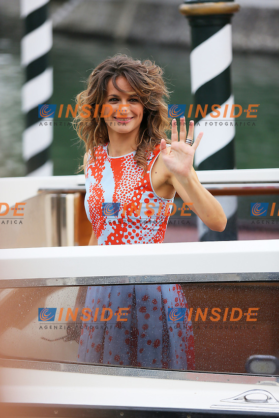 Venice, Italy - August 28: Anita Kravoz arrives at Darsena of Excelsior Hotel, during the 71st Venice Film Festival on August 28, 2014 in Venice, Italy. (Photo by Mark Cape/Inside)<br /> Venezia, Italy - Agosto 28: Anita Kravoz presente alla Darsena dell' Hotel Excelsior, durante del 71st Venice Film Festival. Agosto 28, 2014 Venezia, Italia. (Photo by Mark Cape/Inside Foto)