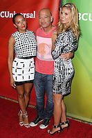PASADENA, CA, USA - APRIL 08: Mel B, Melanie Brown, Howie Mandel, Heidi Klum at the NBCUniversal Summer Press Day 2014 held at The Langham Huntington Hotel and Spa on April 8, 2014 in Pasadena, California, United States. (Photo by Xavier Collin/Celebrity Monitor)