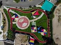 Area de Juegos infantiles. Parque. Park. Paisaje urbano, paisaje de la ciudad de Hermosillo, Sonora, Mexico.<br /> Urban landscape, landscape of the city of Hermosillo, Sonora, Mexico.<br /> (Photo: Luis Gutierrez /NortePhoto)