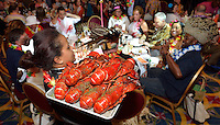 Actors Theatre of Louisville Lobster Feast.<br /> Aloha from Actors! This year Lobster Feast went to the Islands of Hawaii, celebrating 50 years of Actors Theatre.