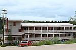 Dawson City 2010,THE YUKON TERRITORY, CANADA, Bunkhouse Hotel