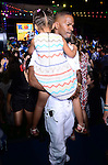 MIAMI BEACH, FL - MARCH 21: Jamie Foxx and daughter Annalise attends the 'Rio 2' Premiere at Fontainebleau Miami Beach on March 21, 2014 in Miami Beach, Florida. (Photo by Johnny Louis/jlnphotography.com)