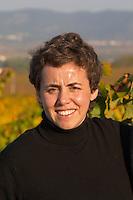 Marta Mila, owner winemaker. Mas Comtal, Avinyonet, Penedes, Catalonia, Spain