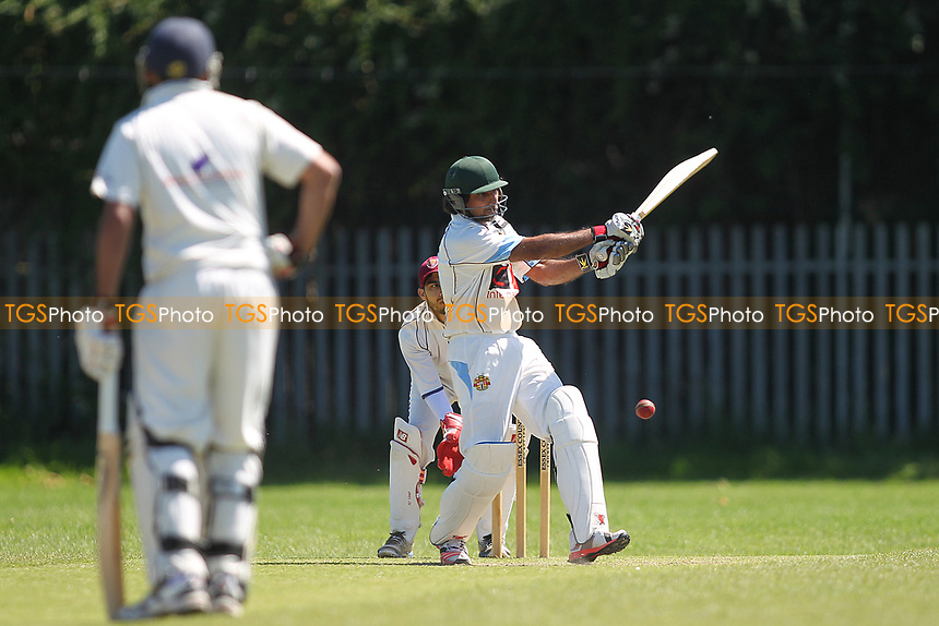 K Iqbal of Barking during Newham CC vs Barking CC, Essex County League Cricket at Flanders Playing Fields on 10th June 2017
