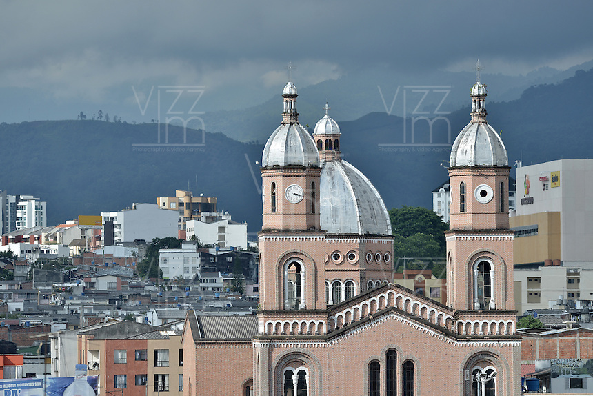 ARMENIA -COLOMBIA. 17-05-2014. Parroquia de San Francisco, Armenia, Colombia. / Parish of San Francisco, Armenia, Colombia. Photo: VizzorImage/ Gabriel Aponte / Staff