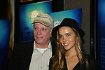 Ric O'Barry and Isabel Lucas at the New York Screening of The Cove, Cinema 2, NYC. (Photo by Sue Coflin/Max Photos)