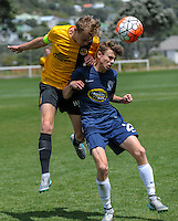 151205 ASB Youth Football - Team Wellington v Auckland City