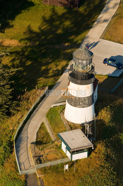 Aerial View of Cape Disappointment, Washington